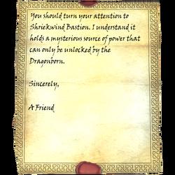 LetterfromaFriend ShriekwindBastion Pg2.png