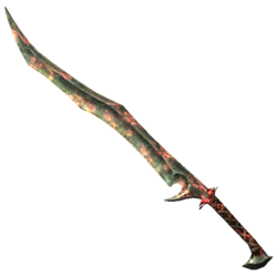 Orcish Greatsword of Flames
