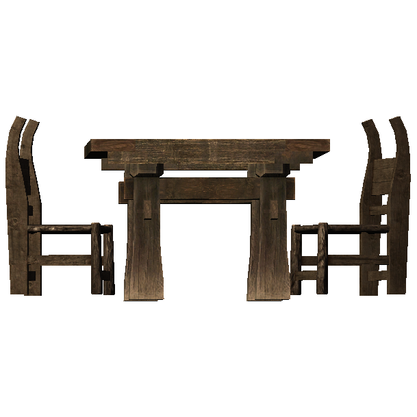 Square Table And Chairs Skyrim Wiki