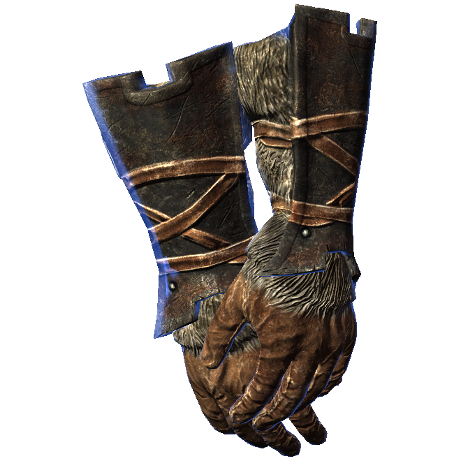 Iron Gauntlets Of Alchemy