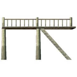 Second Floor Supports