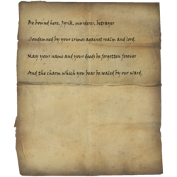 Writ of Sealing for Jyrik