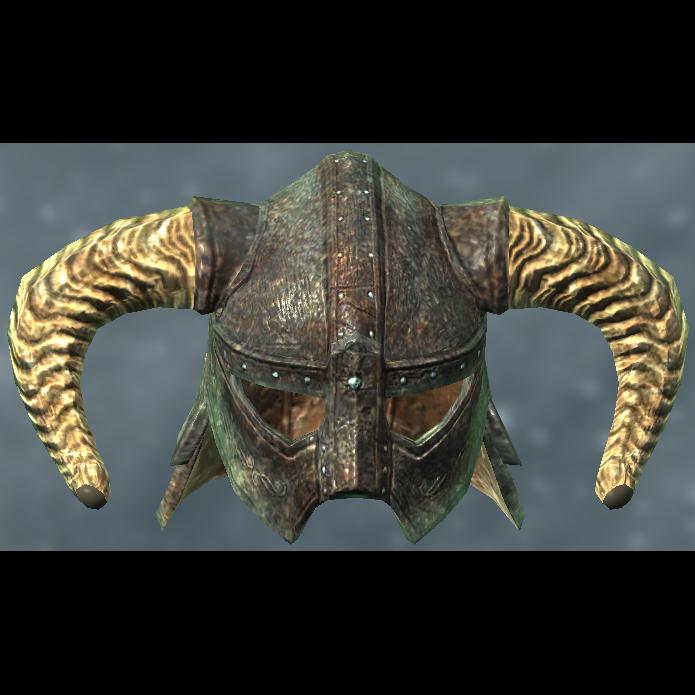 Image Result For Skyrim Iron Helmet