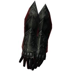 Ebony Gauntlets of Major Sure Grip