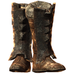 Iron Boots of Resist Fire