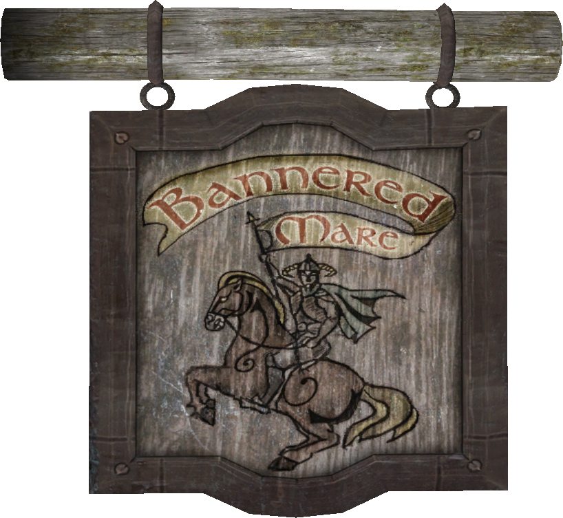 the bannered mare