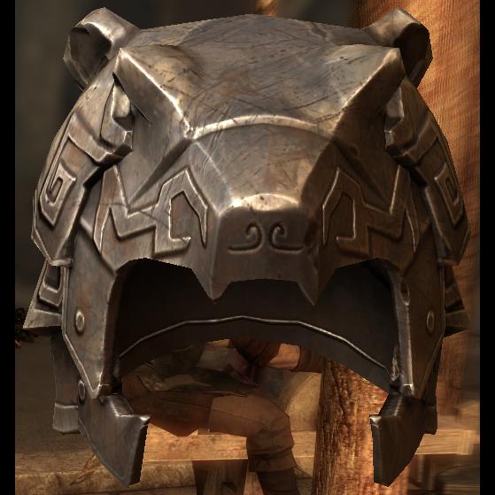 Nordic Carved Helmet