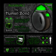Product bond human