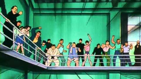 Slam Dunk -003- En Hanamichi contra el Goril·la. L'enfrontament decisiu