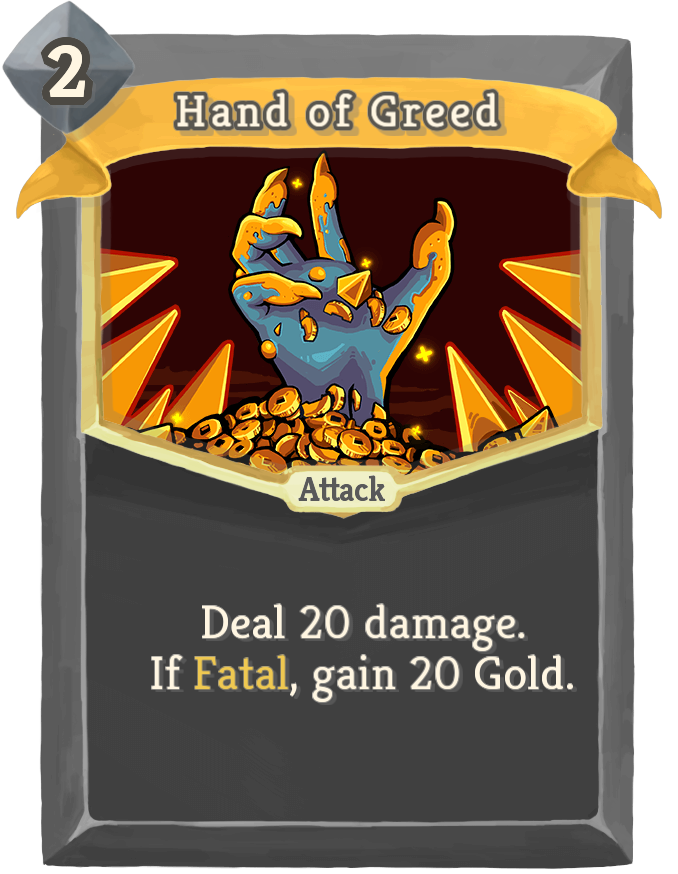 Hand of Greed