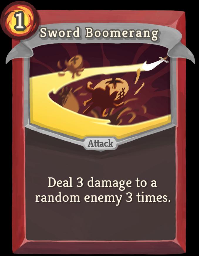 Sword Boomerang