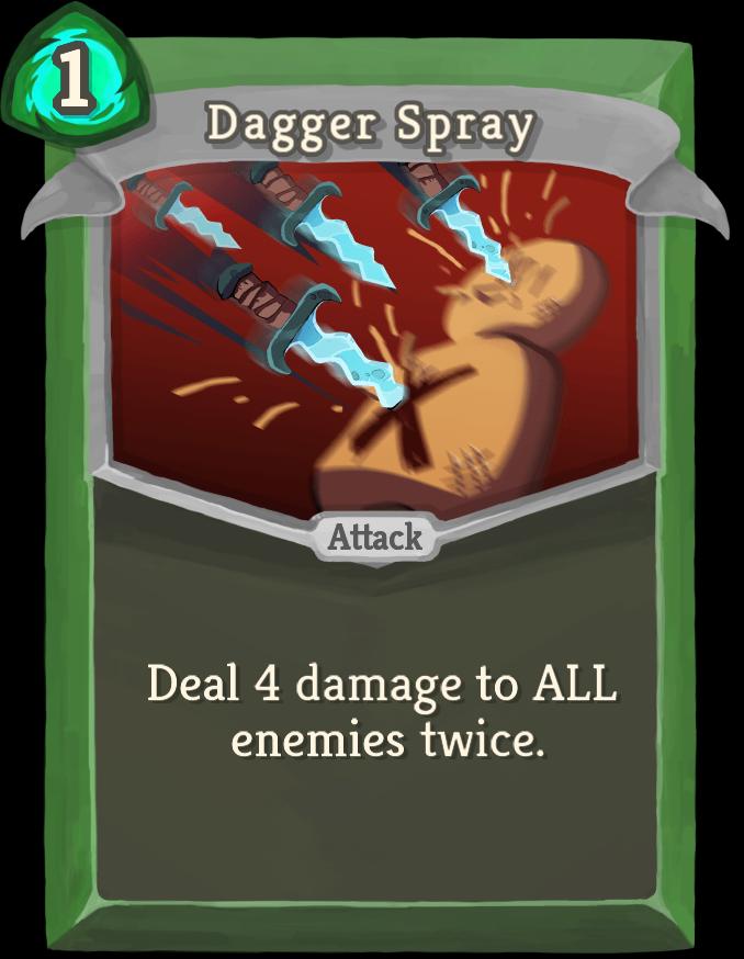 Dagger Spray