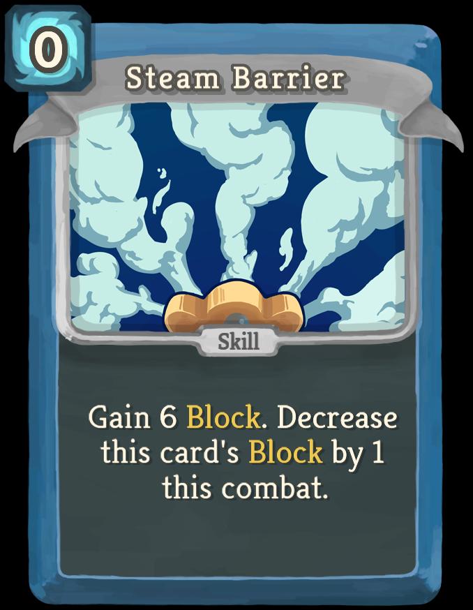 Steam Barrier