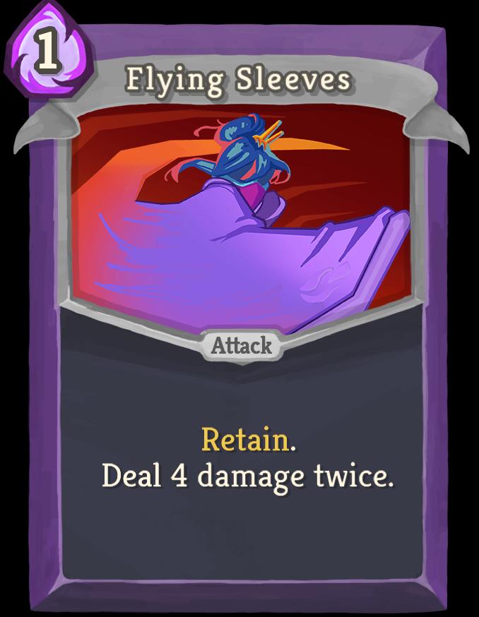 Flying Sleeves