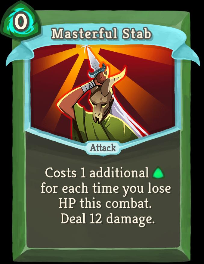 Masterful Stab