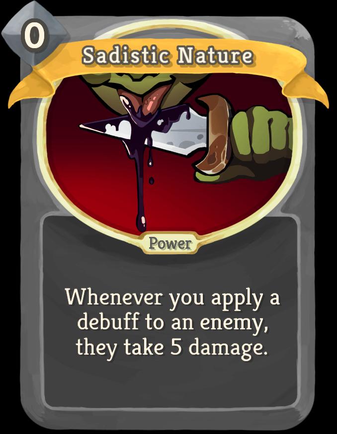 Sadistic Nature