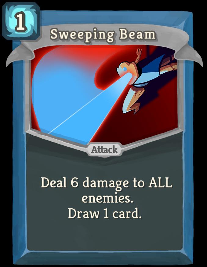 Sweeping Beam