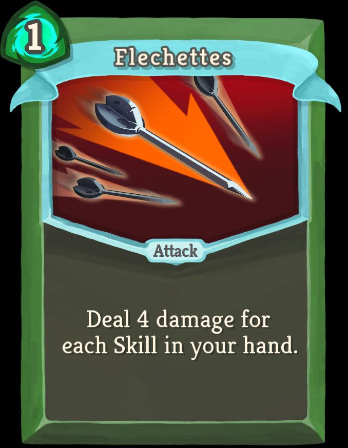 Flechettes