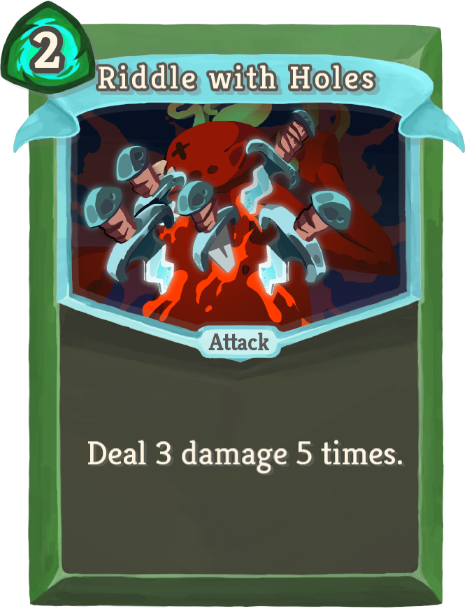 Riddle with Holes