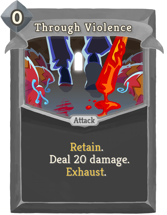 Through Violence