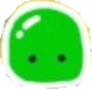 Green slime icon