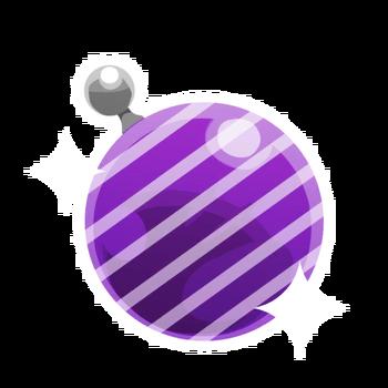 Violet rayé