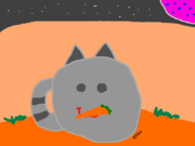 Tabby Slime with a carrot.png