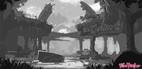 Ruin Concept by Ian McConville 2
