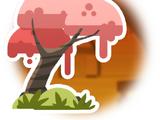 Peach Cloud Tree