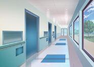 31Szpital - Korytarz