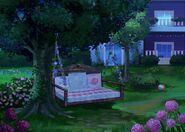 33Dom Iris - Ogród w nocy