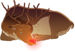 Rudolf smutek swiecacy nos.png