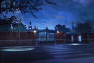 SFU Akademia Anteros wejście w nocy