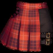 LL1 Szkocka spódnica rock