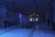 SFU Wydział Sztuki w nocy