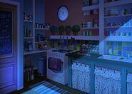 33Dom Iris - Kuchnia w nocy