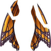 U18 Peleryna motyl