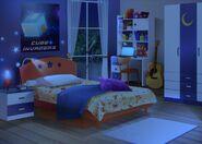 33Dom Iris - Pokój Thomasa w nocy