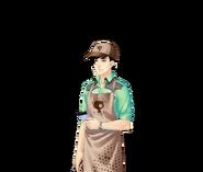 SFU Hyun - zamyślenie (praca)