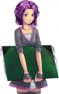 Violetta - zaskoczenie