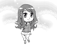 Chibi Melania manga