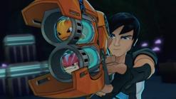 'Burpy' & 'Bludgeon' in 'Fusion Blaster'