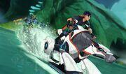 Undertow Cavern - Mecha Beast aquatic mode.jpg