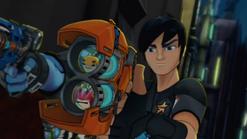 'Rocky' & 'Bludgeon' in 'Fusion Blaster'