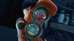 'Bolo' & 'Buzzsaw' in 'Fusion Blaster'