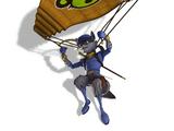 Monkey Paraglider