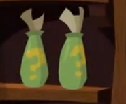 Two Clue Bottles