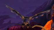 Robo-Falcon stealing Sly's cane