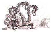 Mech dragon3heads
