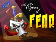 An Opera of Fear title screen